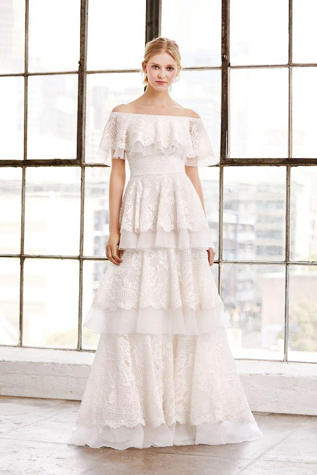 258bc261f1bc Bridal Fashion Week: Wedding Dress Trend Report 2019 | OneFabDay.com