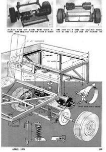 golf cart moped bicycle hobby wood project plans