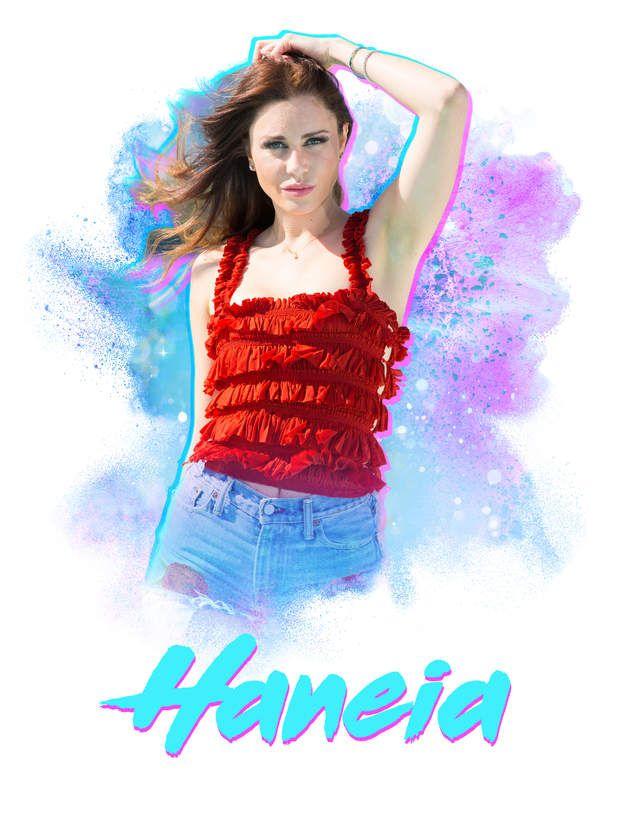 Haneia veut devenir comédienne