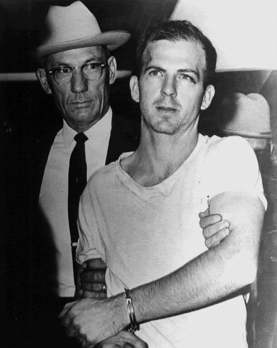 *LEE HARVEY OSWALD ~ 23 yrs old, accused of assassinating President John F. Kennedy