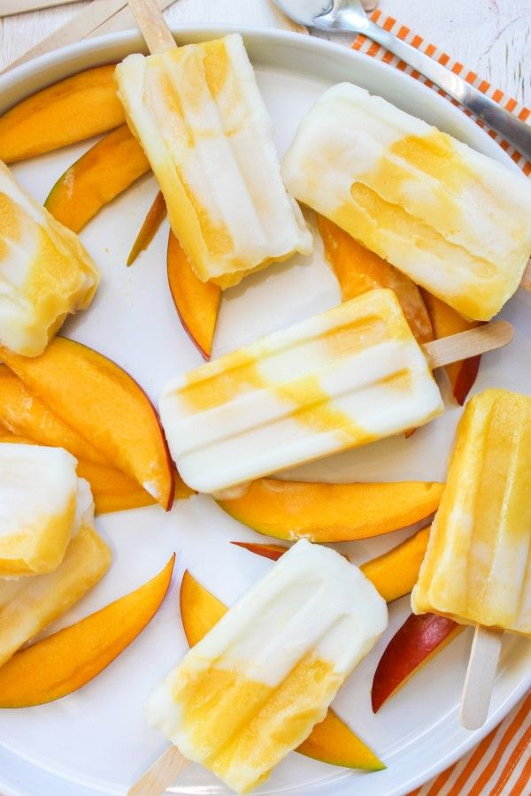 Mango Lassi Popsicle - (Can't advocate the blog's title's suggestion, but there are some darn good recipes here!)