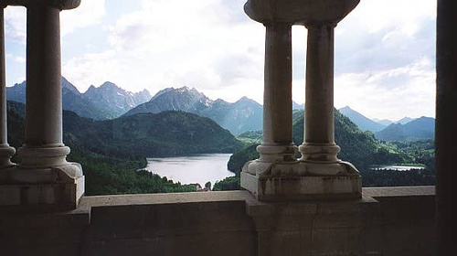 The castle balcony by snduda via flickr gardens for Balcony aesthetic