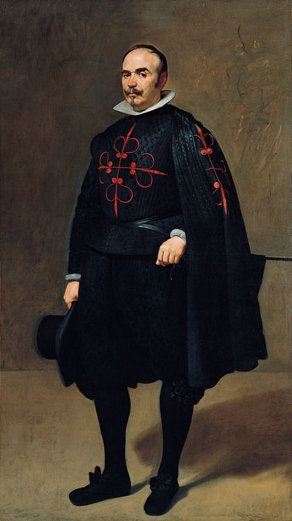 Portrait of Don Pedro de Barberana by Diego Velázquez, 1631-63 Spain, Kimbell Art Museum
