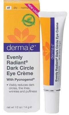 Cildinizdeki koyu halkaların, ince çizgilerin ve şişliğin giderilmesine yardımcı olan,cildinizin aydınlık bir görünüme kavuşmasını sağlayan #DermaE #Evenly Radiant Dark Circle #Eye #Cream #Koyu #Halka Şiş #Görünüm Ve #Kırışıklık İçin #Göz #Çevresi #Bakım #Kremi 14 gr ürününü kullanabilir sipariş verebilirsiniz.