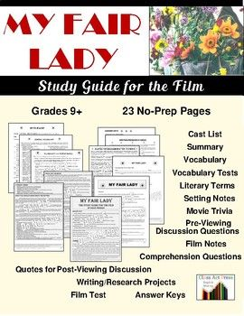 Included in the guide are introductory notes, vocabulary terms and vocabulary tests, literary terms relevant to the movie, cinematic notes, reproducible study questions, a post-movie test, many writing/research projects based on themes suggested by the movie.