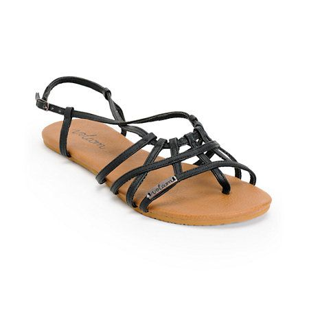 Set yourself apart from the crowd in the Zumiez Exclusive Volcom No Sweat Black and Brown creedler sandals for girls. The Black web upper with heel adjustments is built on a Brown EVA footbed for the perfect combination of comfort and style, making