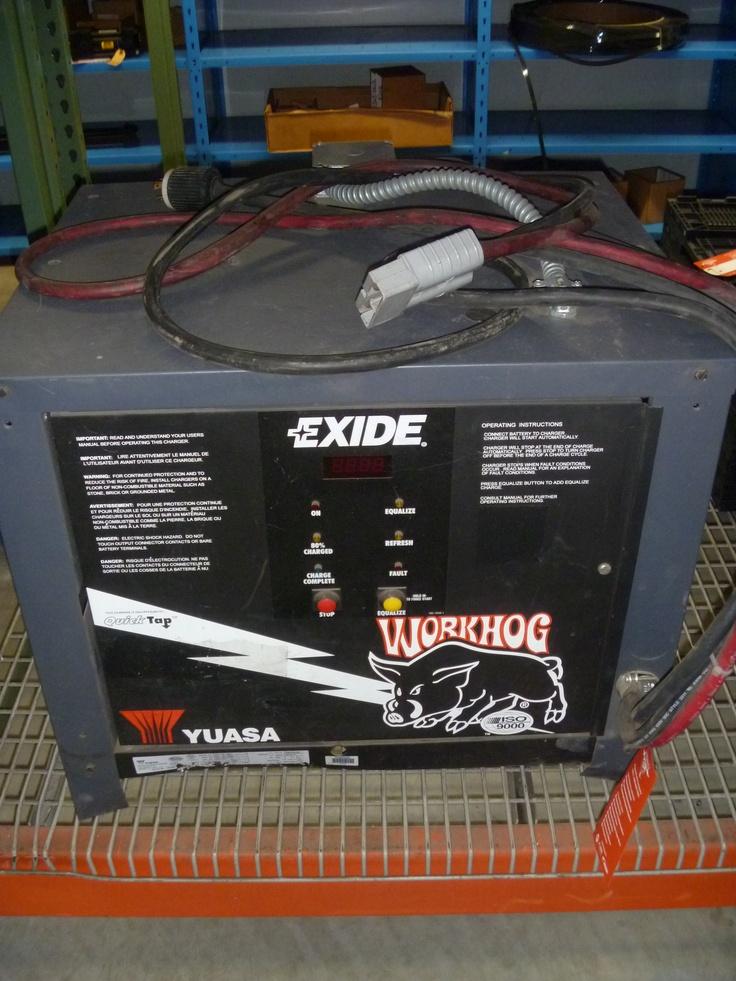 exide work hog 36v battery charger model w318865 208 240 480 volts 3 ph 60 hz batt ah 865. Black Bedroom Furniture Sets. Home Design Ideas