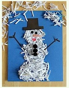Recycle the snowman!
