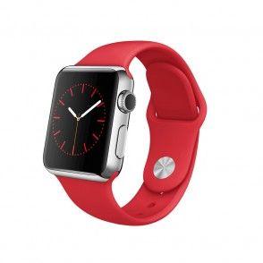 Boîtier en acier inoxydable de 38 mm avec Bracelet Sport (PRODUCT)RED Apple Watch