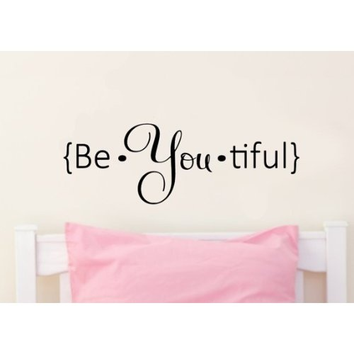Be.you.tiful Vinyl Wall Decal Sticker Art ($12.99)