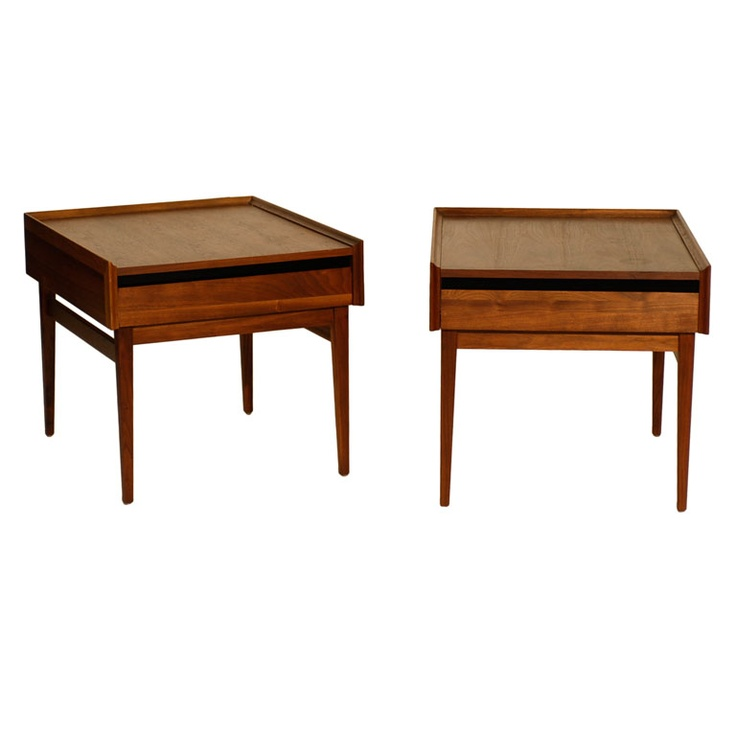 1stdibs   Pair Of Midcentury Oak End Tables Explore Items From 1,700 Global  Dealers At 1stdibs