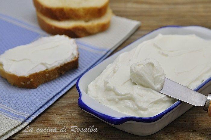 formaggio spalmabile fatto in casa | la cucina di rosalba