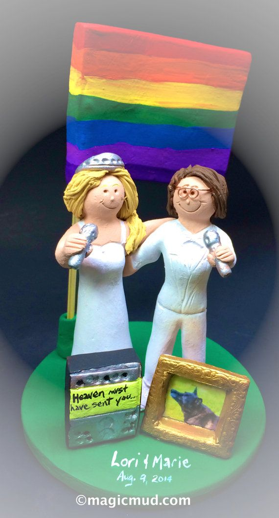 lesbian wedding cake topper 50 best wedding cake topper images on 5498