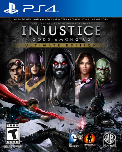 Injustice: Ultimate Edition Is Heading To PS4 | Playstation 4 (PS4) - PS4.sx