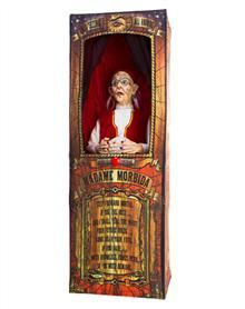 misfortune teller animated halloween event prop decoration you always need a fortune teller around - Spirit Halloween Decorations