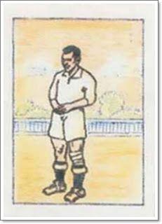Quncoces. Real Madrid. 1931-32. Campeón de Liga. Defensa izquierdo.