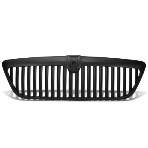 for 98 02 lincoln navigator abs plastic vertical style front grille black 1st gen un173 99 00 01 lincoln navigator all in one grill set pinterest