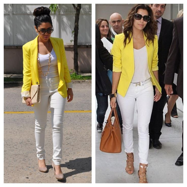 plain outfit yellow and white 11