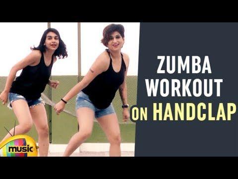 Zumba Workout On HandClap | Zumba Fitness Dance | Choreographed By Vijaya Tupurani - YouTube