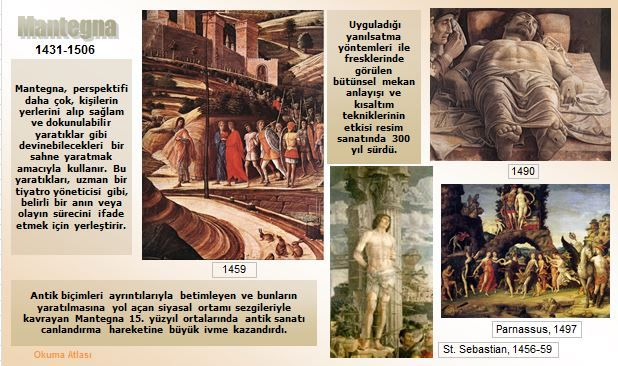 Okuma Atlası Sanat: Mantegna, Andrea