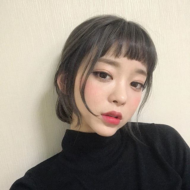 ทรงผมสั้นน่าร้กสไตล์เกาหลี ของสาว Kang TaeRi (강태리) จาก IG @taeri__taeri รูปที่ 5