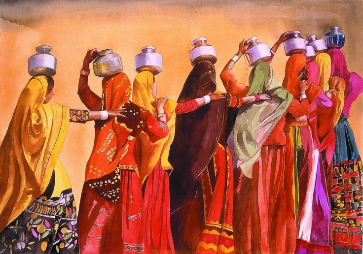 Folk dancers, Gujrat, India