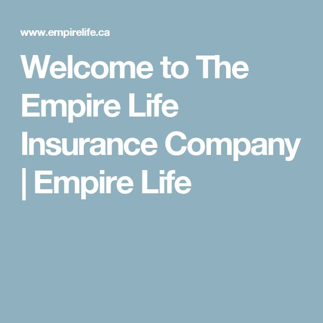 Welcome to The Empire Life Insurance Company | Empire Life