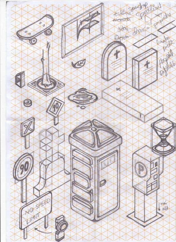 isometric drawings...minecraft and math