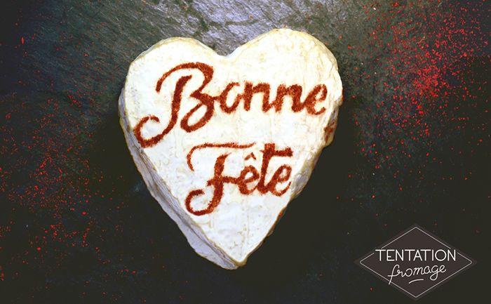 À l'occasion de la Fête des Pères, Tentation Fromage a imaginé un Cœur de Neufchâtel délicatement saupoudré de paprika !