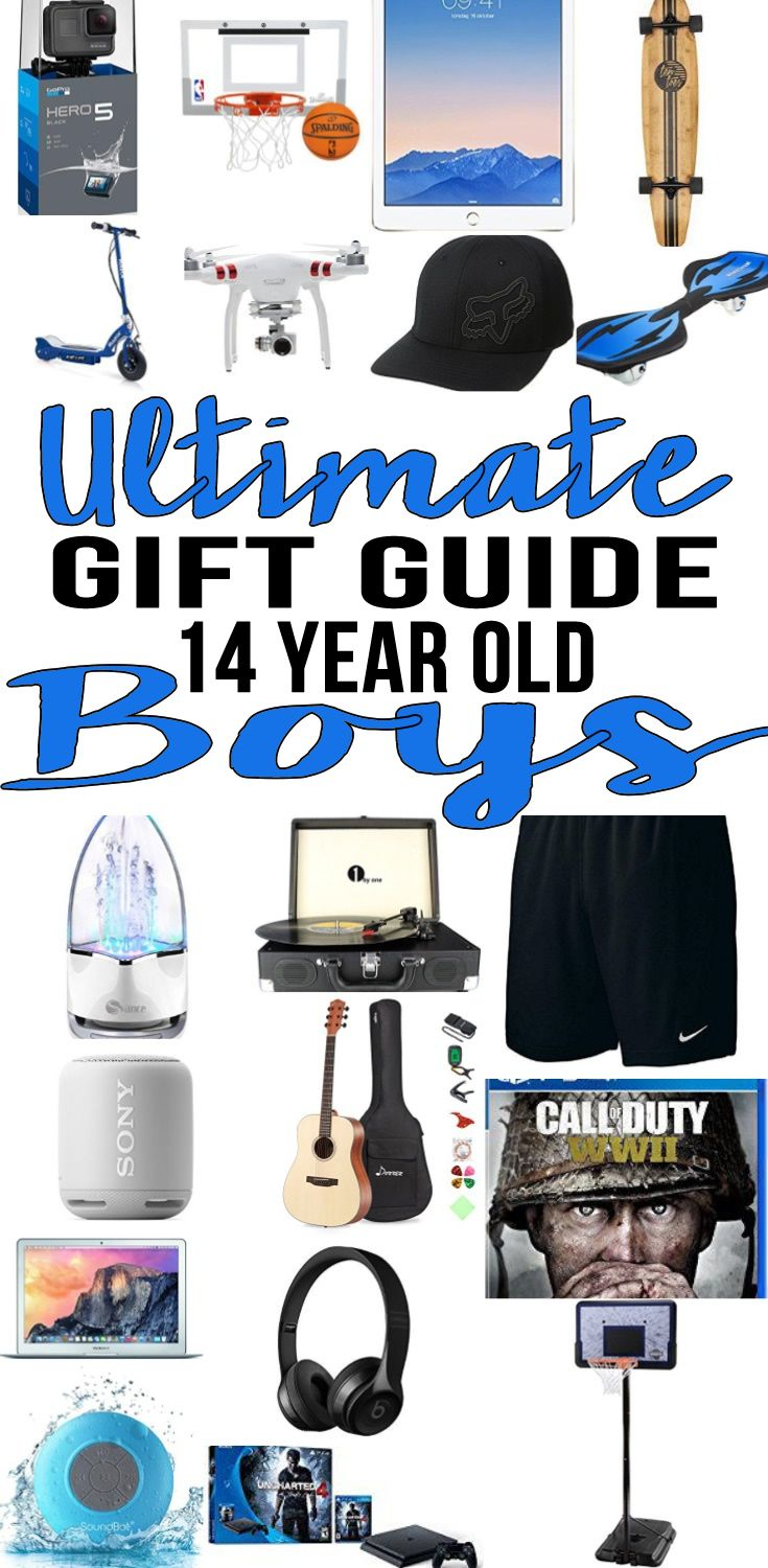 Best Gifts 14 Year Old Boys Will Want | Gift Guides | Pinterest ...