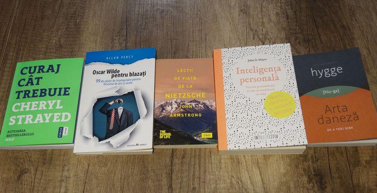 Începutul unui nou an este ocazia perfectă pentru o listă cu cărți de dezvoltare personală. Iată cinci cărți pe care le puteți citi.