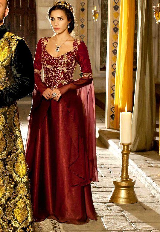 Muhtesem Yuzyil Dress, Mahidevran Sultan