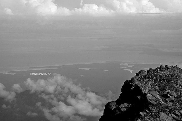 """Costa a la Vista"". Costa Pacifica desde Pico Pance - PNN Los Farallones de Cali."
