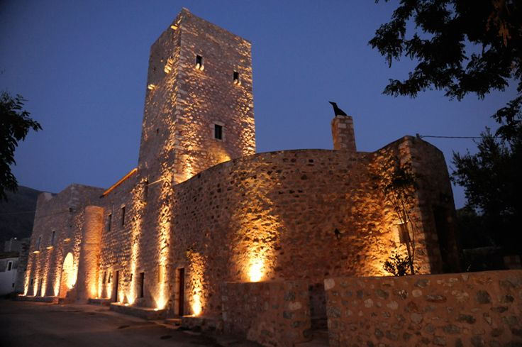Arapakis Historic Castle Mani : Tower in Mani, Haria, Peloponnese, Greece