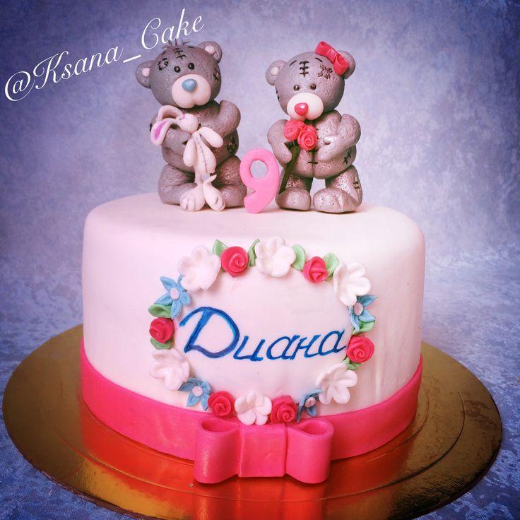 Торт с мишками Тэдди / Teddy Bear cake