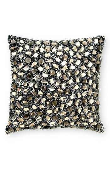 Throw Pillows Nursery : Donna Karan Beaded Decorative Pillow available at #Nordstrom Decorative Pillows Pinterest ...