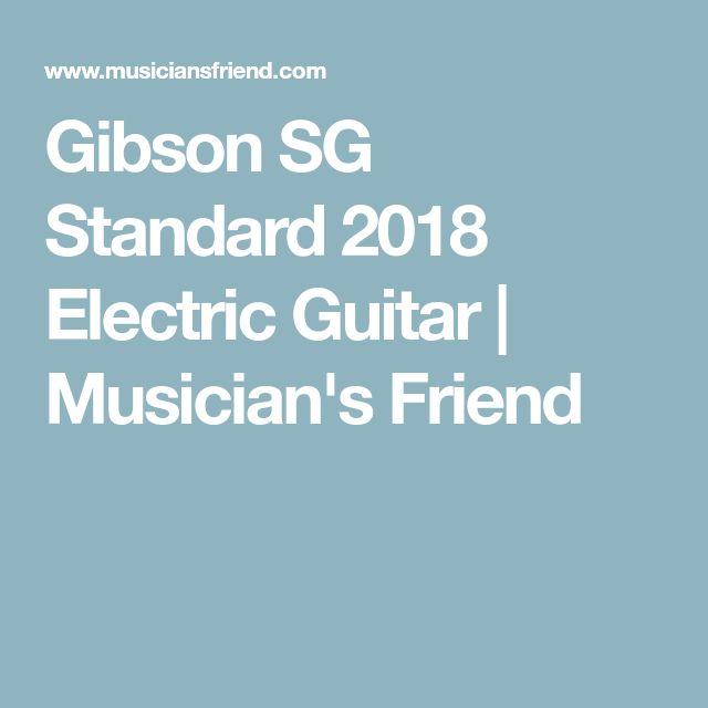Gibson SG Standard 2018 Electric Guitar | Musician's Friend