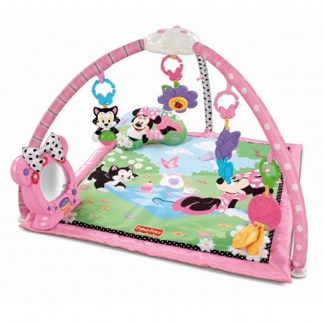 The Fisher Price Minnieu0027s Twinkling Tea Party Activity Play Gym Is The  Perfect Place Your Little Princess To Play And Learn About The World Around  Here.