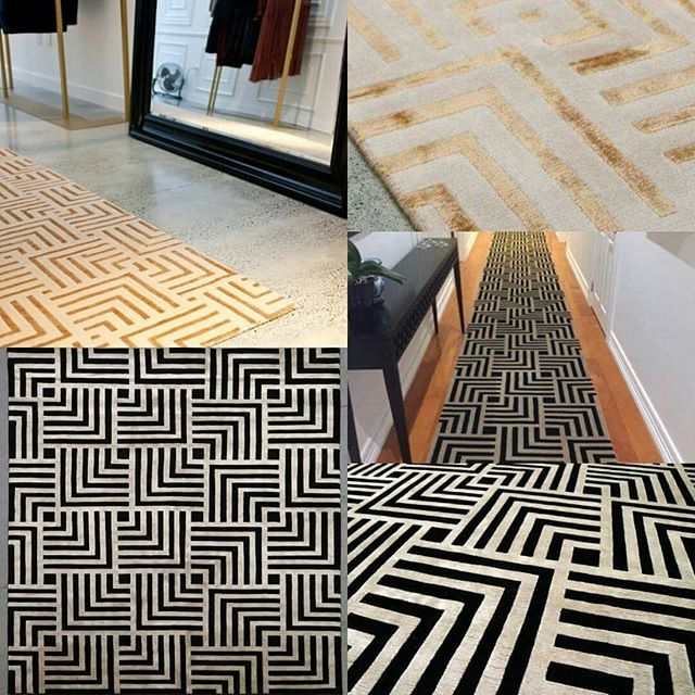 "Our ""Athens"" rug is a favourite custom design & is finding special places in special homes. #athens #rugstyle #geometricrugs #geometricpattern #geometriccollection ##customdesign #customservice"