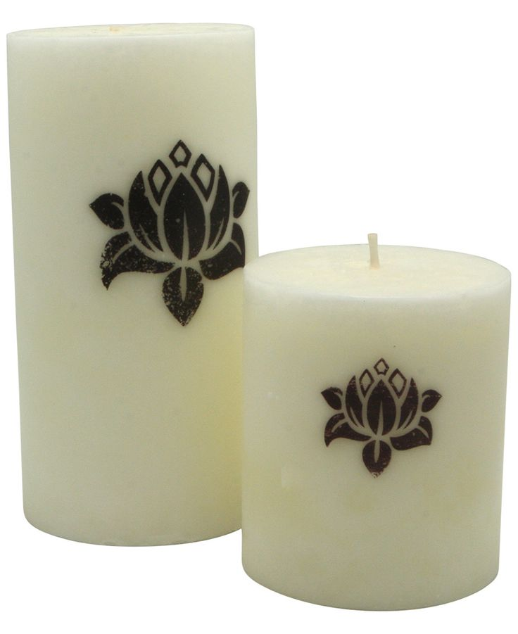 Lotus Symbol Floral Scent Purity Candle