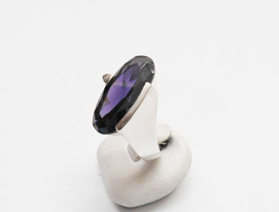 Beautiful ring 925 Silver Amethyst size 16.8 SR513 by Schmuckbaron