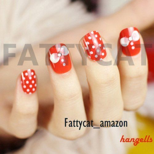 Rivets shape two color fashion japanese 3d nail art 24 nails sold by fattycat by fattycat 10 Fashion style and nails facebook