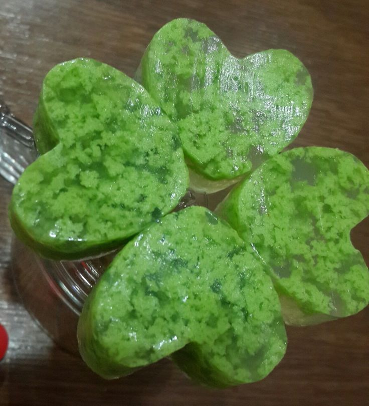 Fourleafclover pudding
