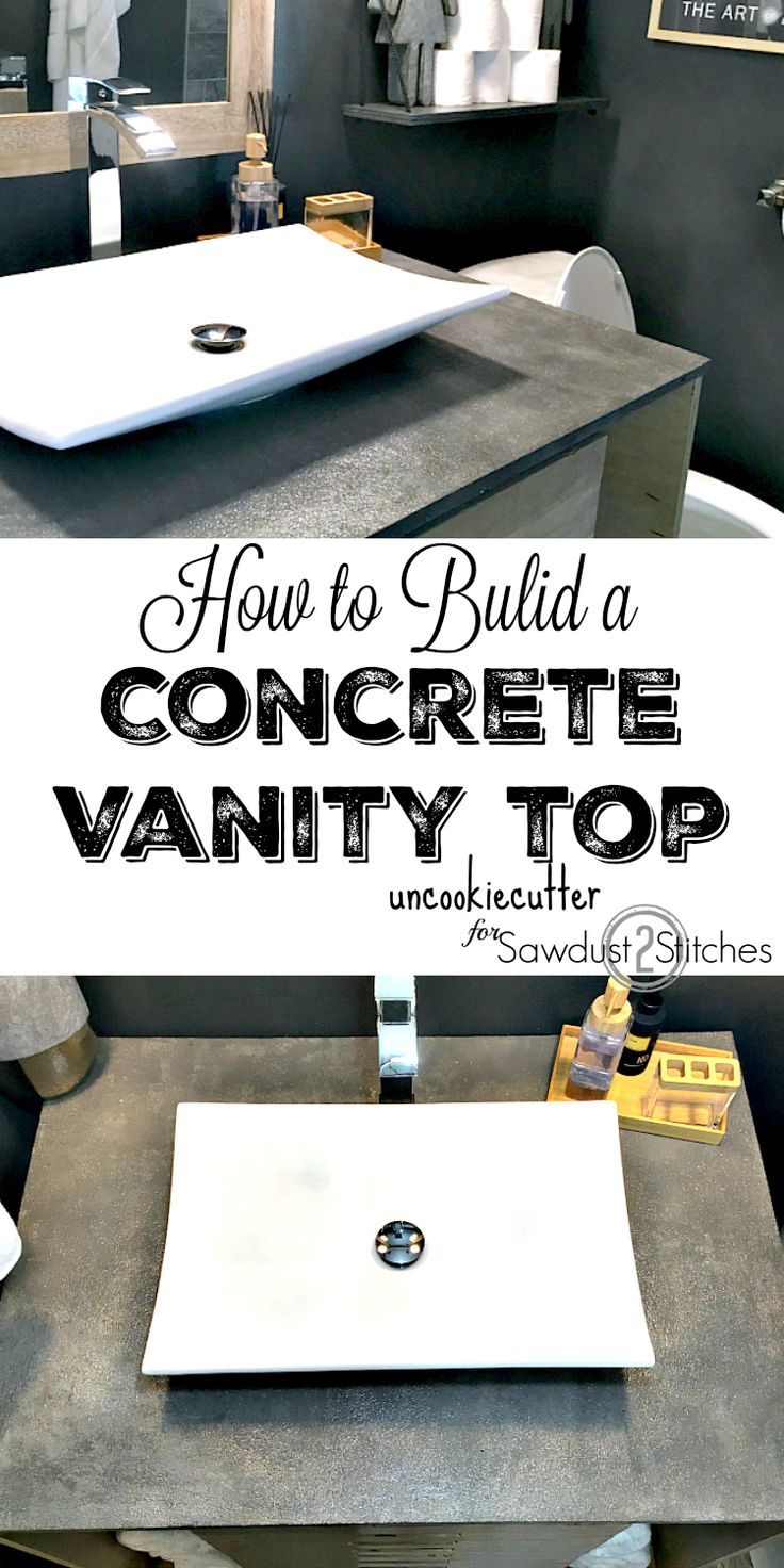 Gallery For Website Concrete Vanity Top