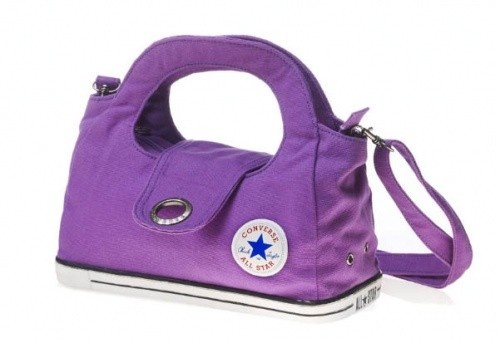 purple converse bag