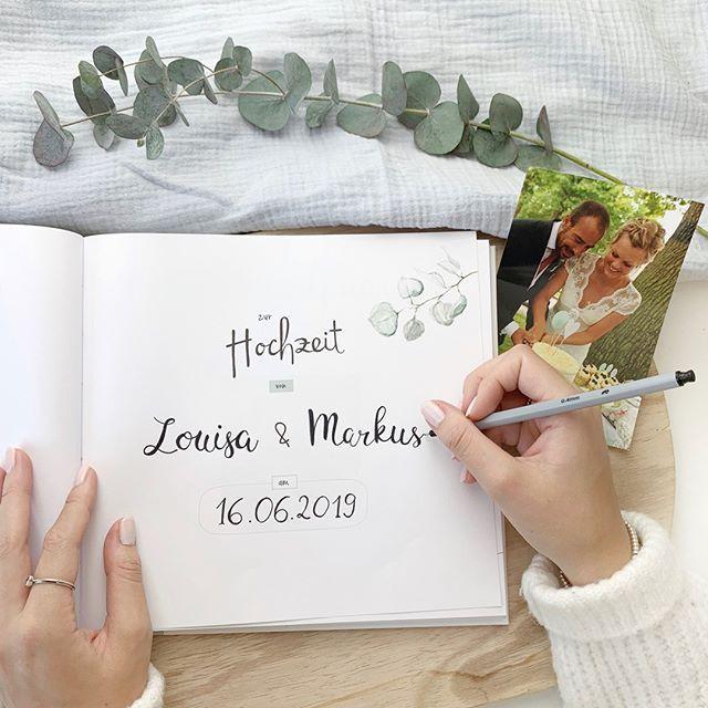 Gaste Und Erinnerungsbuch Hochzeit Tableware