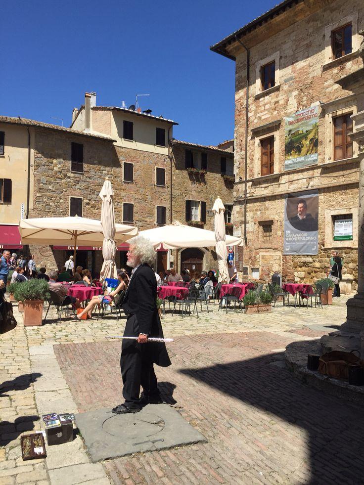 #montepulciano good music, #caravaggio #Tuscany #Toscana