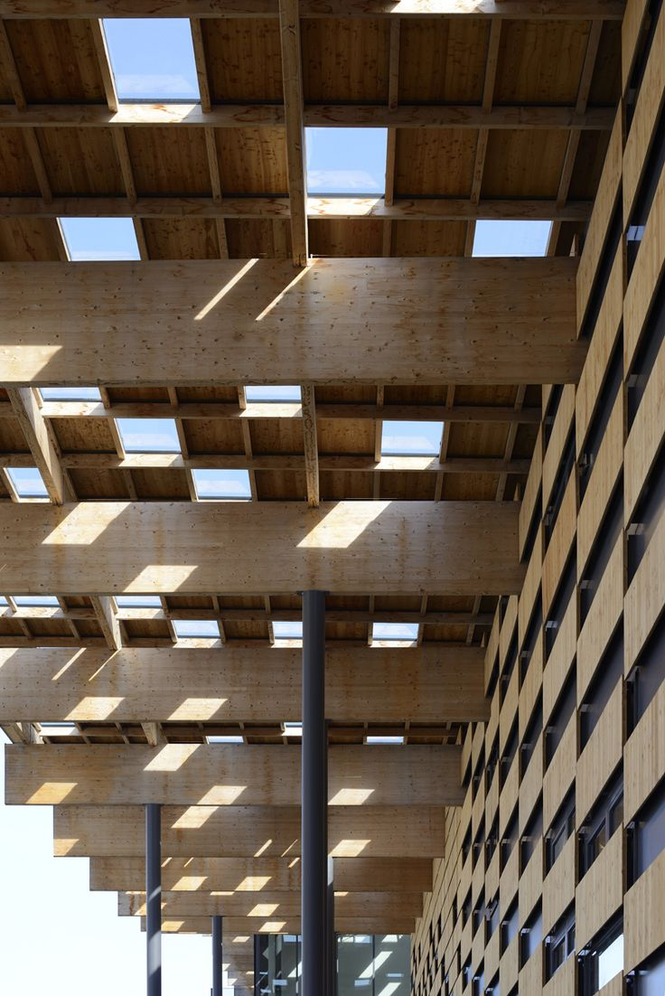 """""""Besançon Art Center and Cité de la Musique"""" (2013) roof 