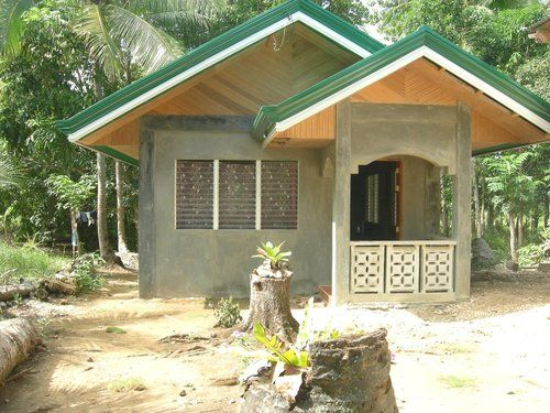 Philippines house panoramio photo of my small house for Simple bungalow house design with terrace