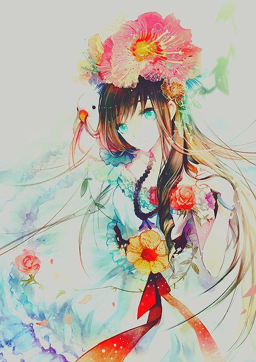 anime girls art   anime girl, art anime - inspiring picture on Favim.com